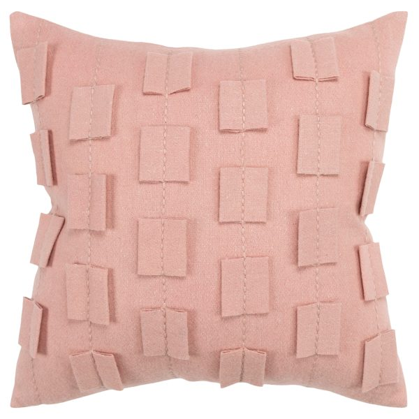 Alaya felt throw pillow