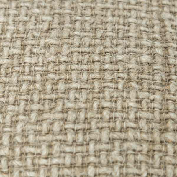 Close up of the Coronado throw pillow with tweed textured details
