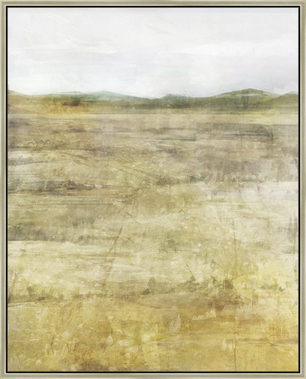 Golden Waves of Grain - Champagne Floater Frame (43x53x2 inches)