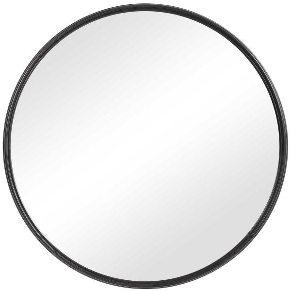 full circle round mirror
